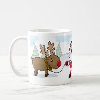 Santa and mug