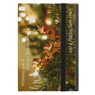 Santa and Reindeer Christmas Cases For iPad Mini