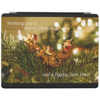 Santa and Reindeer Christmas iPad Smart Cover