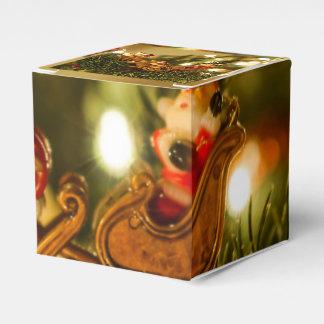 Santa And Reindeer Favor Box