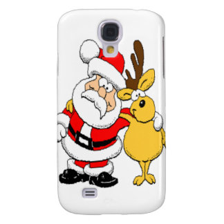 Santa and Reindeer Galaxy S4 Case