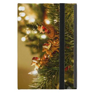 Santa And Reindeer iPad Mini Case