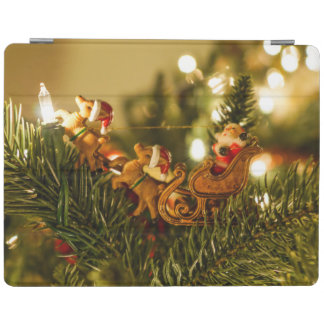 Santa And Reindeer iPad Smart Cover