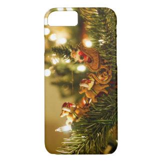 Santa And Reindeer iPhone 7 Case