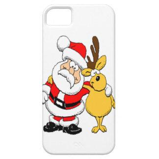 Santa and Reindeer iPhone SE/5/5s Case