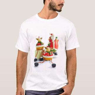Santa and Reindeer T-Shirt