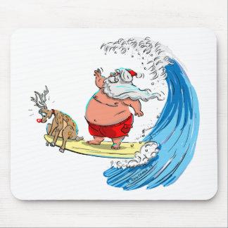 SaNtA aNd RuDoLf Mouse Pad