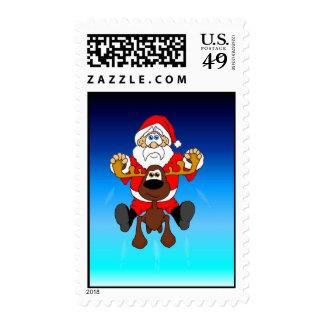 Santa and Smooshy Stamps