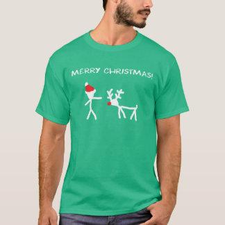 Santa and T-Shirt