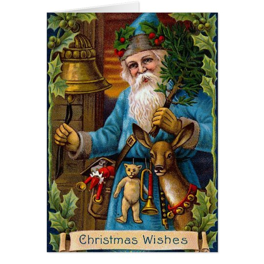 Santa and the Bell Card