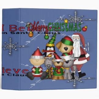 Santa and the gang binder