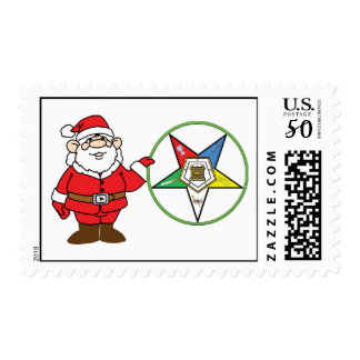 Santa and the OES Postage