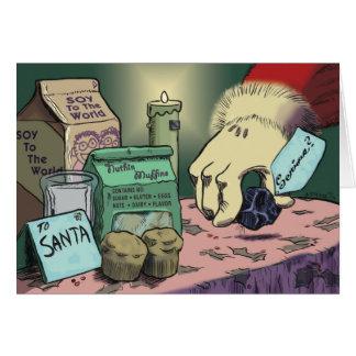 Santa and the Tigermom Card