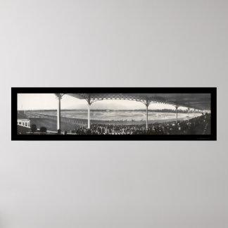 Santa Anita Race Track Photo 1908 Poster
