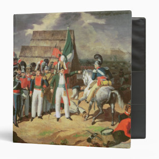 Santa Anna defies the Spanish troops Binder
