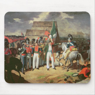 Santa Anna defies the Spanish troops Mousepads