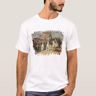 Santa Anna defies the Spanish troops T-Shirt