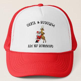 Santa Are My Homeboys Gift Trucker Hat