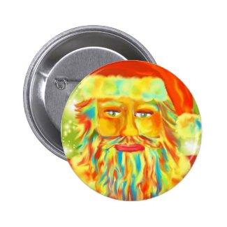 Santa Art Pin