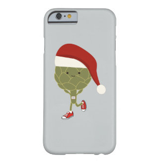 Santa Artichoke Runner Barely There iPhone 6 Case