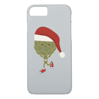 Santa Artichoke Runner iPhone 8/7 Case