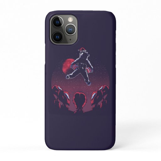 Santa Astronaut iPhone 11 Pro Case