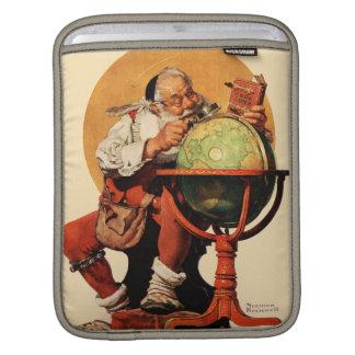 Santa at the Globe Sleeve For iPads