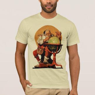 Santa at the Globe T-Shirt