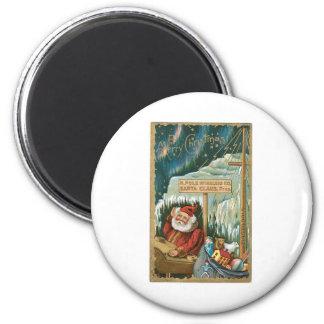 Santa at the North Pole Magnets