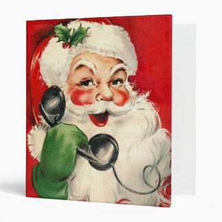 Santa at the Phone Binder
