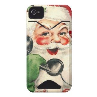 Santa at the Phone