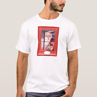Santa at the window T-Shirt