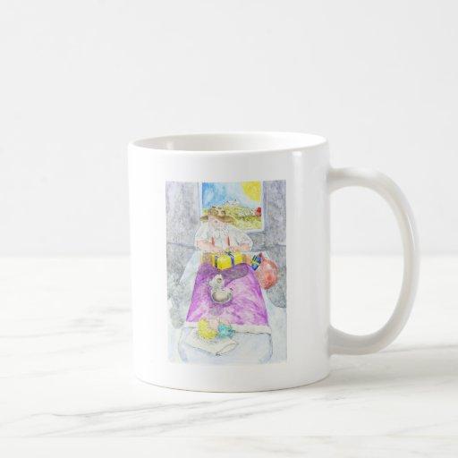 Santa australiano tazas de café