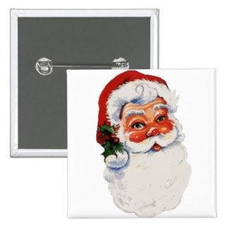Santa baby! 2 inch square button