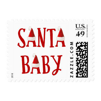 Santa Baby | Baby's First Christmas Stamp