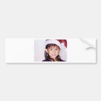 Santa Baby Car Bumper Sticker