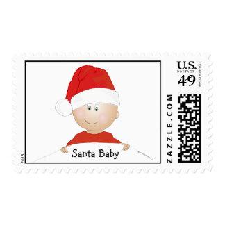"""""""Santa Baby"""" Christmas Postage Stamp"""