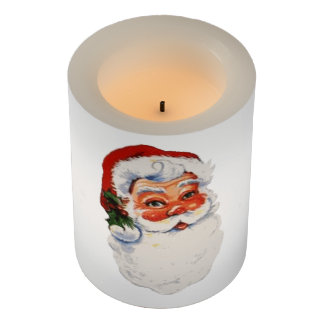 Santa baby! flameless candle