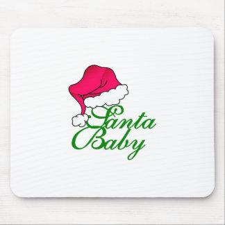 Santa Baby Mouse Pad