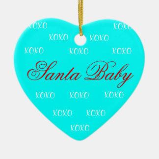 Santa Baby Ornament