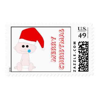 Santa Baby Postage Stamp