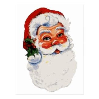 Santa baby! postcard