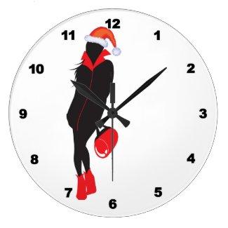 Santa Baby Clocks