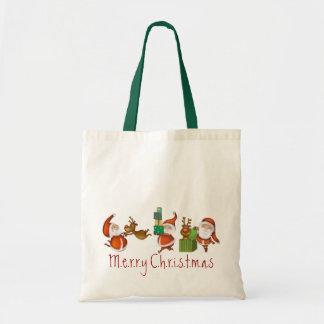 Santa Budget Tote Bag