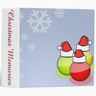 Santa Balls Binder