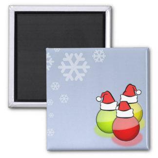 Santa Balls Magnet