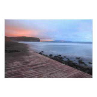 Santa Barbara beach Photographic Print