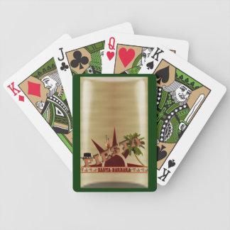 Santa Barbara CA Fiesta Bicycle Playing Cards