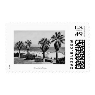 Santa Barbara, CA West Beach View Photograph Postage