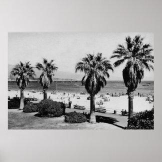 Santa Barbara, CA West Beach View Photograph Posters
